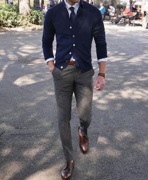Ce inseamna business casual pentru barbati? Ei bine, linia dintre acest stil si cel office se trage intre a purta sau nu cravata